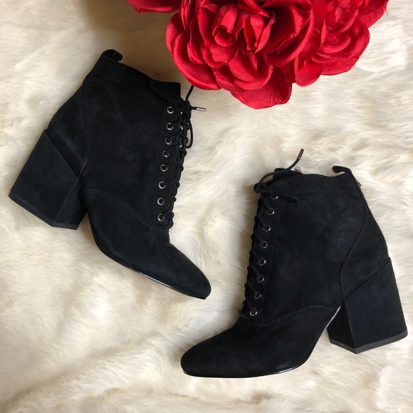 6f82446a7 Sam Edelman Lace Up Block Heel Tate Bootie